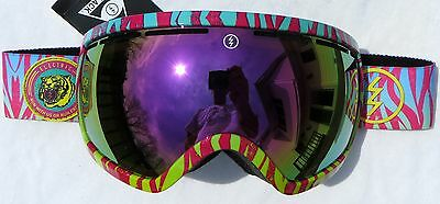 $190 Electric EG2.5 RARE Mens Winter Goggles Pink Chrome Mirror smith Spy Lens