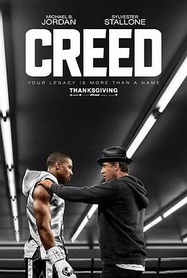 CREED great ORIGINAL 27x40 movie poster (st001)