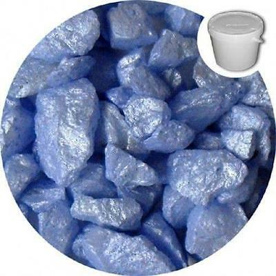 500 Grams Decorative Carolina Blue Silk Chippings - Home Decor- Vases - Craft