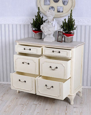 commode shabby chic armoire vintage tiroirs cabinet. Black Bedroom Furniture Sets. Home Design Ideas