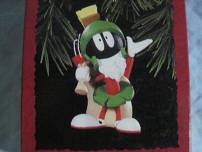 1996 Hallmark MARVIN THE MARTIAN Ornament LOONEY TUNES New NIB