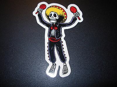 "PEARL JAM Sticker MATT CAMERON MUERTO Halloween 4"" tour concert merch gig cd lp"
