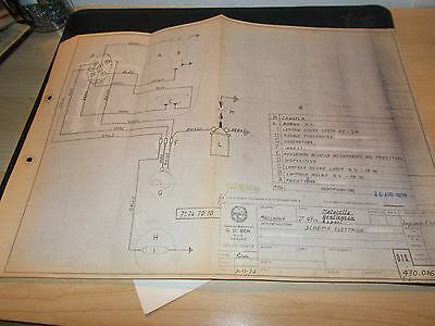 Benelli 1973 ( motorella,gentleman,export) Wiring Diagrams BLUEPRINT