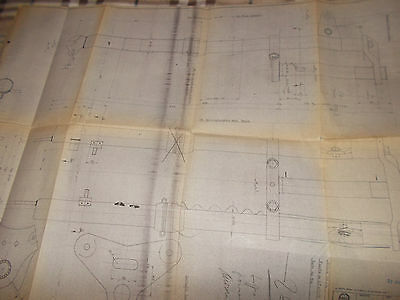Benelli 1977   ( gentleman 77  )  Motorcycle fork  BLUEPRINT