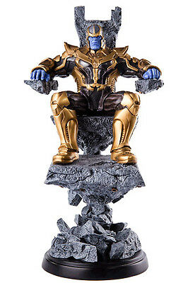Guardians of the Galaxy Statue 1/10 Thanos Action Figur 37cm Iron Studios