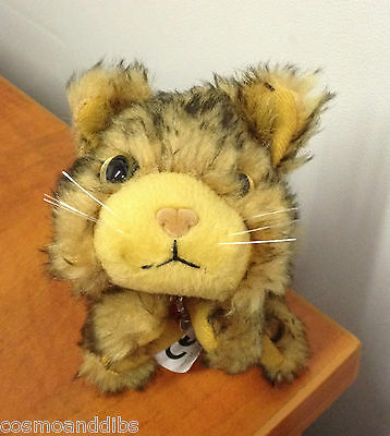 """Cute Brown And Black """"the Cat"""" Soft Toy From The Artist Collection"""