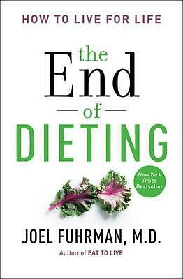The End of Dieting by Joel Fuhrman (English) Paperback Book Free Shipping!