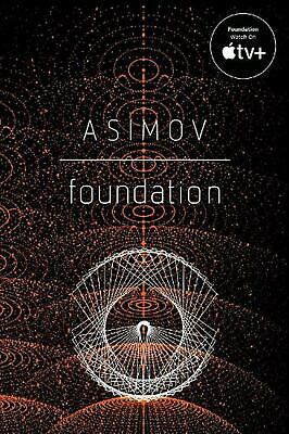 Foundation by Isaac Asimov (English) Paperback Book Free Shipping!