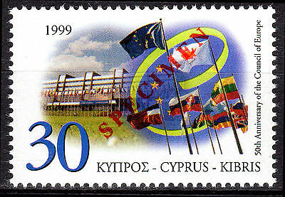 Cyprus 1999 Council Of Europe Specimen Mnh