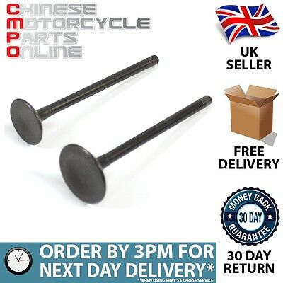 125cc Motorcycle Inlet and Exhaust Valve 156FMI 157FMI for POR Apache 125