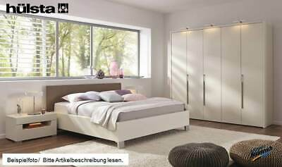 h lsta schlafzimmer gentis lack hochglanz grau kern. Black Bedroom Furniture Sets. Home Design Ideas