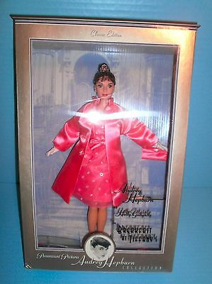 Paramount Pictures Audrey Hepburn Barbie Breakfast at Tiffany's Pink Princess