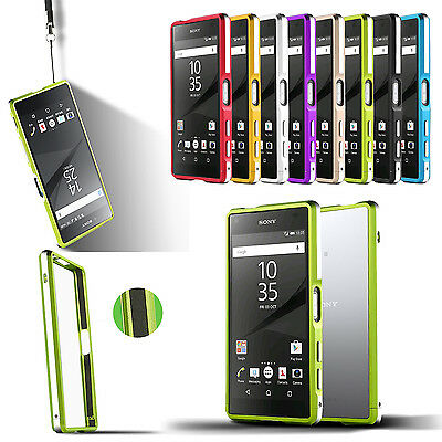 Aluminum Metal Bumper Frame Case for Sony Xperia Z5/Compact/Premium