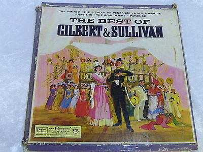 The Best of Gilbert & Sullivan Record 1960 Royal Philharmonic Orchestra vintage