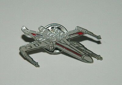 Classic Star Wars Rebel X-Wing Fighter Cloisonne Metal Pin 1993, NEW UNUSED