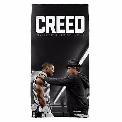 """Creed Movie Poster Rocky Licensed Beach Towel 30"""" X 60"""""""