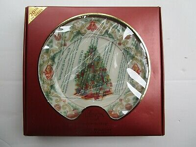 LENOX 2010 annual TREES AROUND THE WORLD PLATE 1st Quality NEW in BOX China
