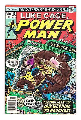 LUKE CAGE POWER MAN 35 (FN/VF) SPEAR and MANGLER*