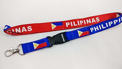 Philippines/pilipinas - Flag Reversible Lanyard, Free Shipping. Manny Pacquiao