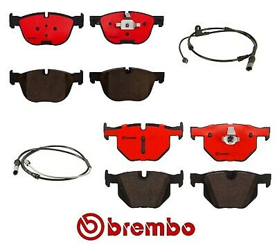 Brembo Front and Rear Ceramic Disc Brake Pads BMW X5