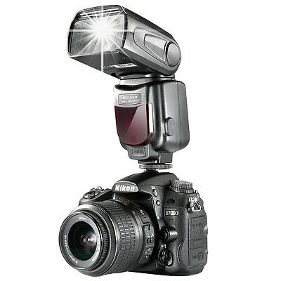 Neewer NW-561 Speedlite Flash with LCD Display for Canon & Nikon UD#15