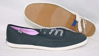 4011d230f3c Womens Keds Champion Oxford Low WF51830 Slate Grey Classic Sneakers Shoes