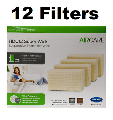 AIRCARE HDC12 Replacement Wicking Humidifier GENUINE 12 FILTERS