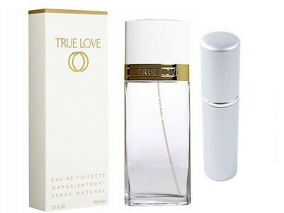 Elizabeth Arden True Love 5Ml Edt In Silver Refillable Travel Safe Atomiser 83