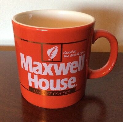 Maxwell House Instant Red Coffee Mug Good to the Last Drop