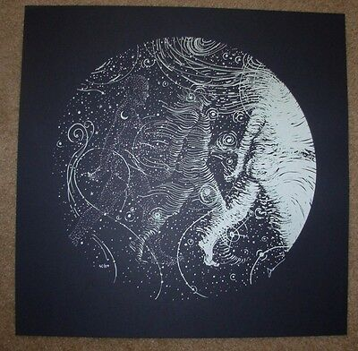 JAMES EADS silkscreen poster PASSING THROUGH art print sn/50