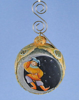 G. DeBrekht Ornament Man on Moon New in Box