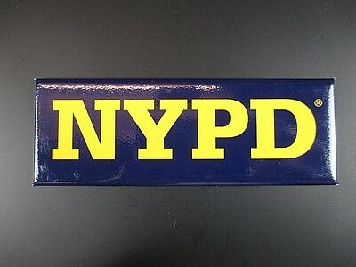New York Police Department NYPD Magnet Souvenir USA Amerika,12 cm