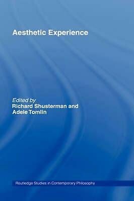 Aesthetic Experience by Richard Shusterman (English) Hardcover Book Free Shippin