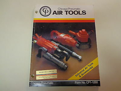 Chicago Pneumatic Air Tools Industrial Catalog 1982 Drills Hammers Grinders