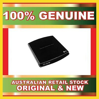 LG Portable Super Multi CD DVD RW Drive External USB Burner 8x GP10N New in box