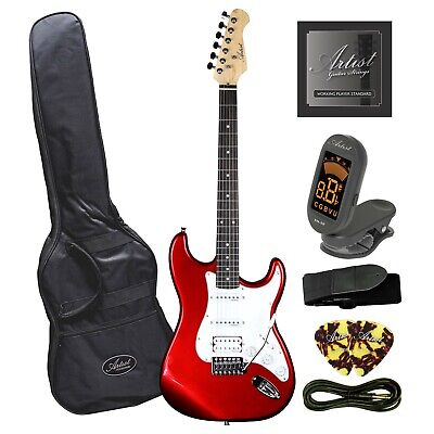Artist STH Candy Apple Red Electric Guitar + Humbucker - New