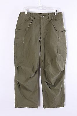Vintage Vietnam Military Six Cargo Pocket Pants Size Medium