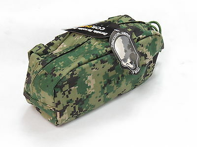 TMC Large Utility Tactical AOR 2 Camo Cordura Pouch Bag for Paintball Airsoft