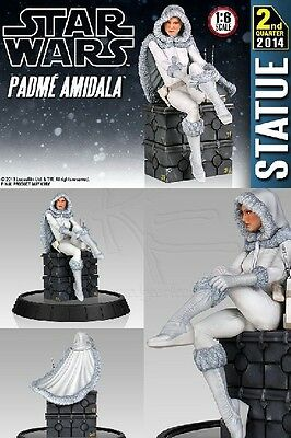 Gentle Giant Star Wars Adam Hughes Snowbunny Padme Amidala Statue New