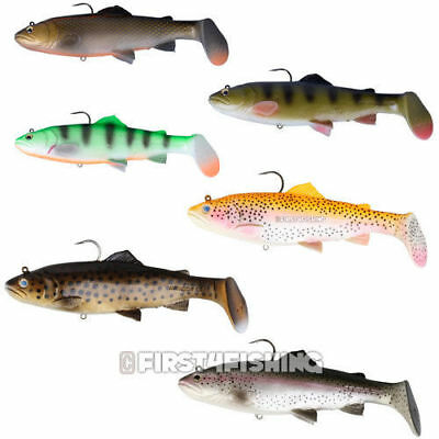 Savage Gear 3D Trout Rattle Shads / Lures - Pike Zander Predator Fishing Tackle