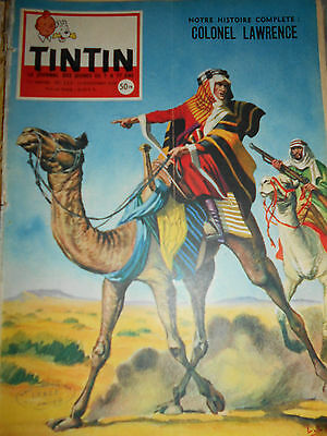 Journal TINTIN N°) 525 Couverture Capitaine Lawrence Funcken