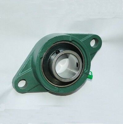 UCFL Metric 2 Bolt Oval Flange Unit Self Lube Housed Bearings