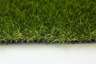 40mm Florida Artificial Garden Grass Realistic Astro Natural Turf & Fake Lawn