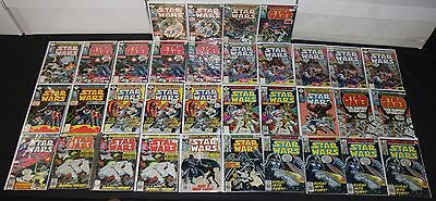 Vintage Marvel Bronze Age Star Wars 34pc Low to Mid Grade Comic Lot #1-23
