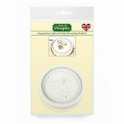 Cupcake Fondant Icing Sugar Paste Embellishment Topper Mould: Victorian Bead