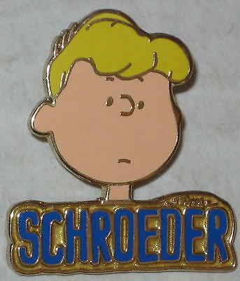 Schroeder Namesake Lapel Pin