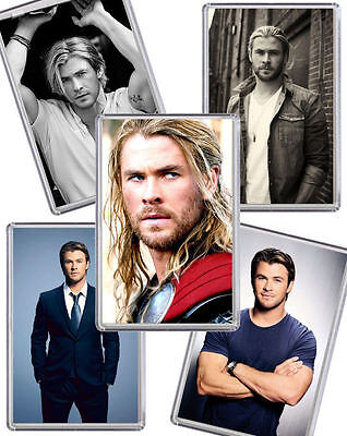 Chris Hemsworth Fridge Magnet Chose from 5 Images FREE POSTAGE