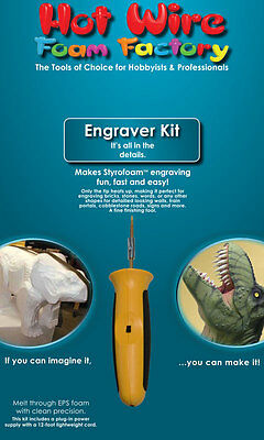 Crafters Engraver Tool Kit -Hot Wire Foam Factory