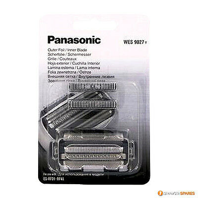 PANASONIC REPLACEMENT WES9027Y FOIL & CUTTER PACK for ES-RF31, ES-RF41, ES-LF71