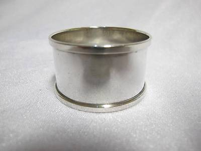 Solid Sterling Silver Napkin Polished H Griffith Birmingham 1939